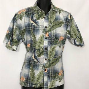 BOCA CLASSICS resort Hawaiian tropical shirt